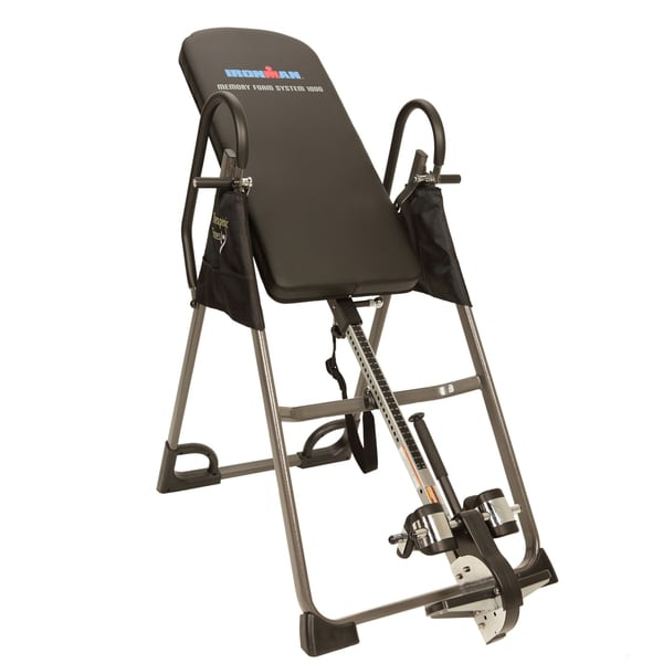 Ironman Gravity Memory Foam Inversion Table - Black