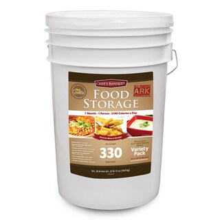 Chef's Banquet ARK 1 Month Food Storage Supply (330 Servings)
