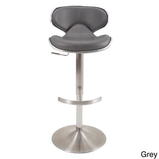 MIX Brushed Stainless Steel Adjustable Height Swivel Bar Stool