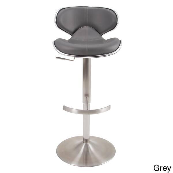 Brilliant Shop Mix Brushed Stainless Steel Adjustable Height Swivel Uwap Interior Chair Design Uwaporg