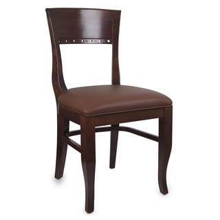 Biedermier Medium Oak Dining Chairs (Set of Two)