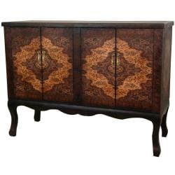 Handmade Wood Olde-Worlde Vintage Double Chest (China)