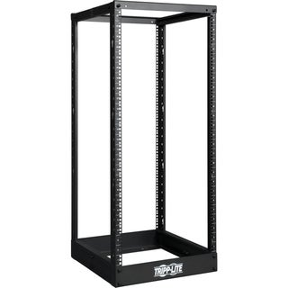 Tripp Lite 25U 4-Post Open Frame Rack Cabinet Square Holes 1000lb Cap
