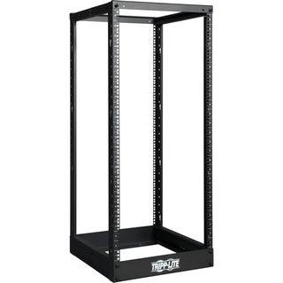Tripp Lite 25U 4-Post Open Frame Rack Cabinet Square Holes 1000lb Cap