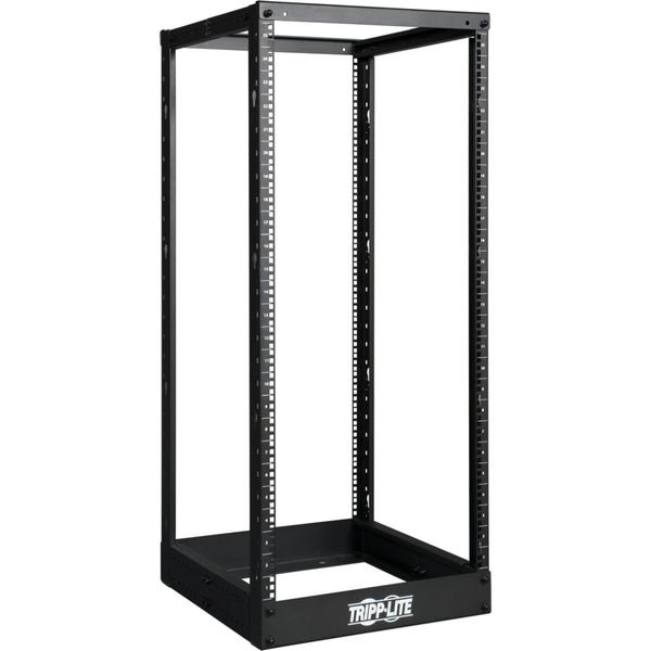 Tripp Lite 25U 4-Post Open Frame Rack Cabinet Square Holes 1000lb Capacity