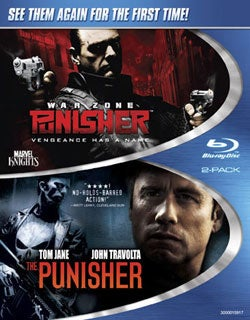 Punisher War Zone/Punisher (Blu-ray Disc)