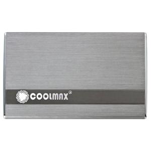 Coolmax HD-250TN-U3 Drive Enclosure External - Gray