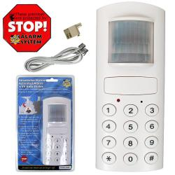 Motion Activated Alarm with Auto Dialer