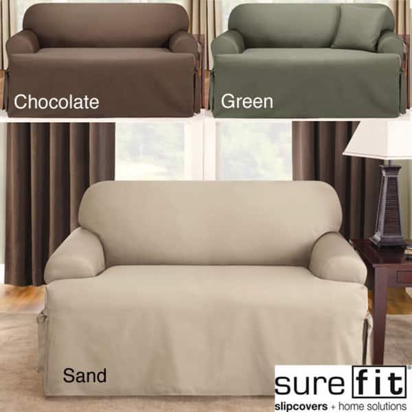 Fit Logan T Cushion Sofa Slipcover
