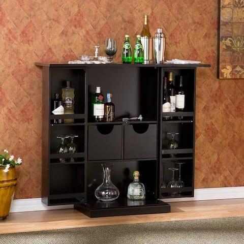 Copper Grove Targhee Black Bar Cabinet