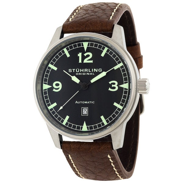 Stuhrling Original Men's 'Tuskegee Flier' Automatic Watch
