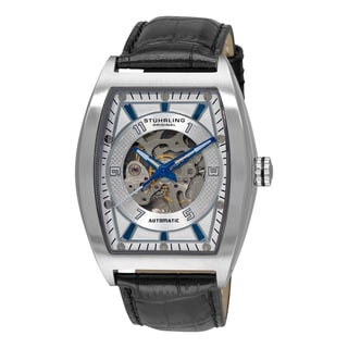 Stuhrling Original Men's 'Millennia Prodigy' Silver-Tone-Dial Automatic Watch