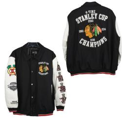 Chicago Blackhawks Stanley Cup Champions Commemorative Varsity Jacket