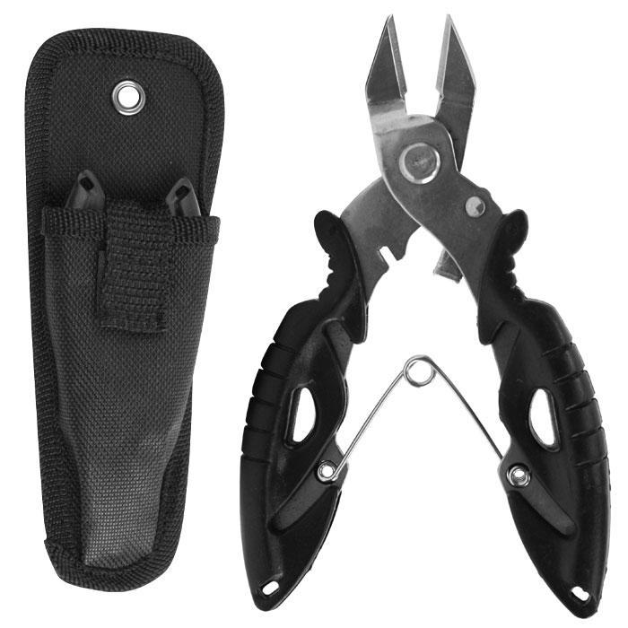 Gone Fishing Stainless Steel Braid Scissors w/ Case