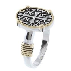 La Preciosa Sterling Silver Cross Ring - Thumbnail 1
