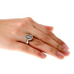 La Preciosa Sterling Silver Cross Ring - Thumbnail 2