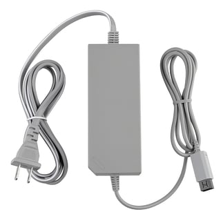 INSTEN White AC Power Adapter for Nintendo Wii