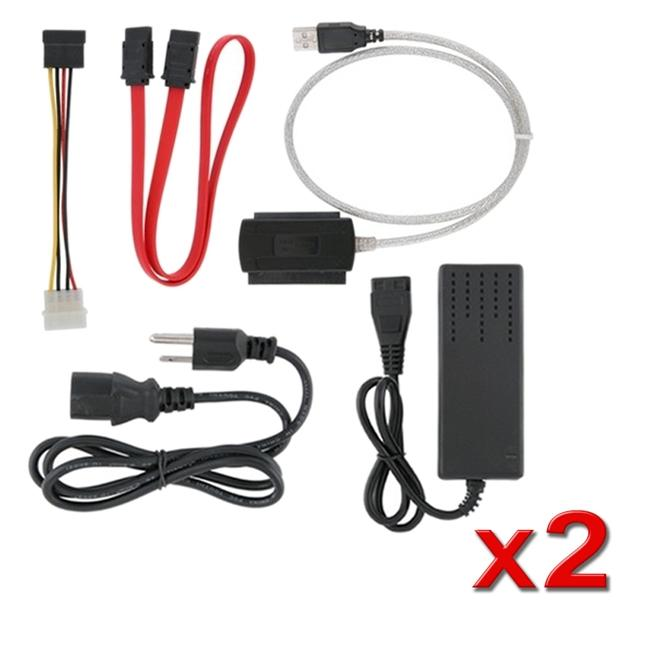 INSTEN USB 2.0 to IDE/ SATA Converter Cable (Pack of 2)