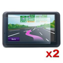 INSTEN 4.3-inch Widescreen LCD Screen Protector for Garmin Nuvi (Pack of 2) - Thumbnail 1