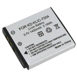 INSTEN Compatible Li-ion Battery for Kodak KLIC-7004/ Fuji NP-50