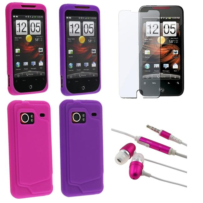 BasAcc Skin Cases/ LCD Protector/ Headset for HTC Droid Incredible