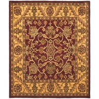Safavieh Handmade Golden Jaipur Burgundy/ Gold Wool Rug - 12' x 15'