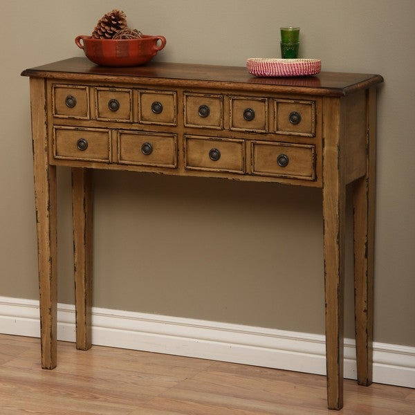 Humphry Dark Pearl Huntboard Console Table (Indonesia)
