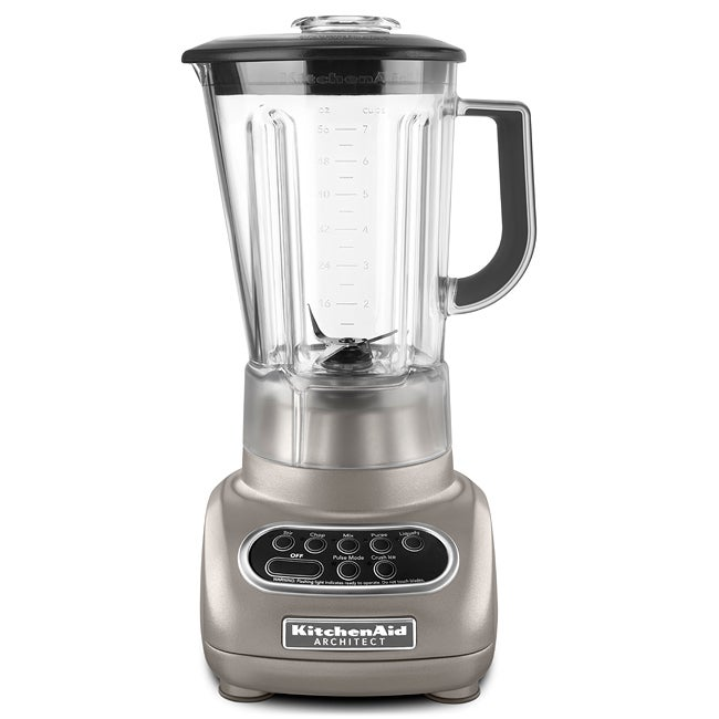 Kitchenaid 5 Speed Blender kitchenaid rksb560cs cocoa silver 5-speed artisan blender
