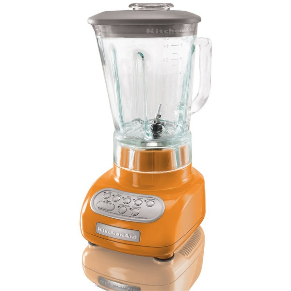 KitchenAid RKSB560TG Tangerine 5-speed Artisan Series Blender (Refurbished)