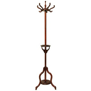 Rosewood Coat and Hat Stand (China)