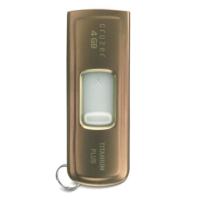 SanDisk Ultra Titanium Plus 4GB USB Flash Drive
