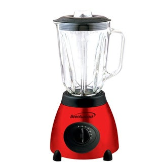 Brentwood JB-810 Classic Red Stainless Steel Blender