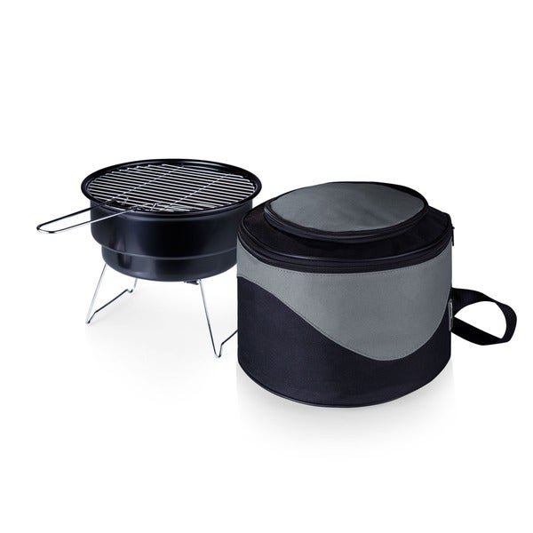 Caliente Cooler Tote w/ 10-inch Charcoal Grill. Opens flyout.