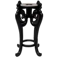 Rosewood Tall 10.5-inch Fishbowl Stand (China)