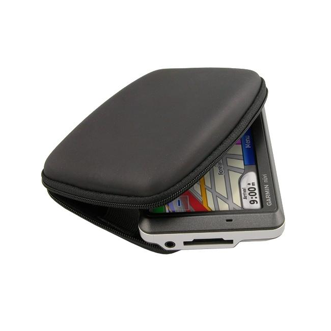 INSTEN Black Eva Phone Case Cover for Garmin Nuvi 250W/ 255W/ 260W - Thumbnail 0
