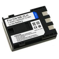 INSTEN Compatible Li-ion Battery for Canon NB-2LH (Pack of 2)