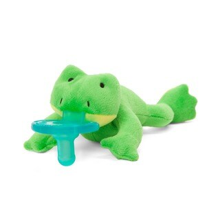 WubbaNub Green Frog Infant Pacifier