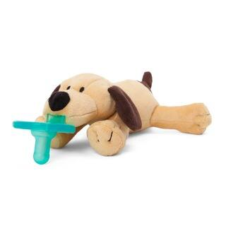 WubbaNub Brown Puppy Infant Pacifier|https://ak1.ostkcdn.com/images/products/5710922/P13449271.jpg?impolicy=medium