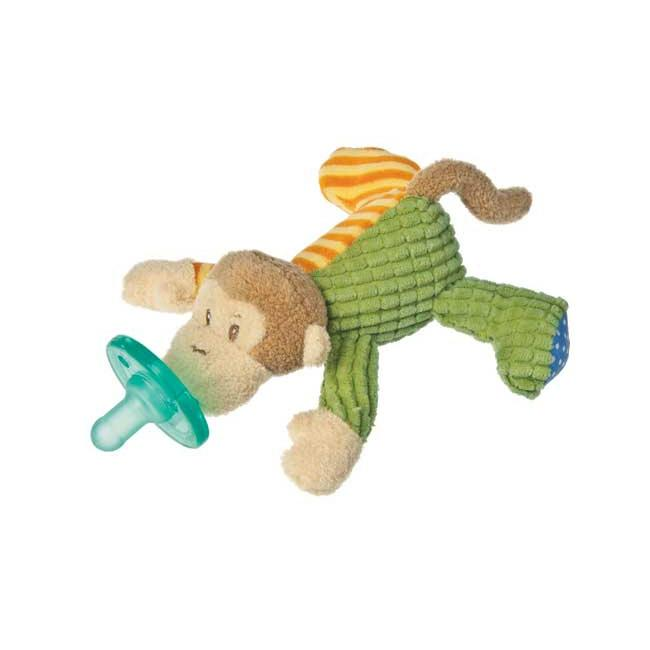 WubbaNub Mango Monkey Infant Pacifier
