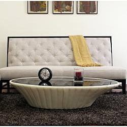 Bristol Tufted Gray Linen Modern Sofa - Thumbnail 1