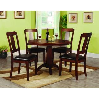 Furniture of America Martine Antique Oak 5-piece Dining Set