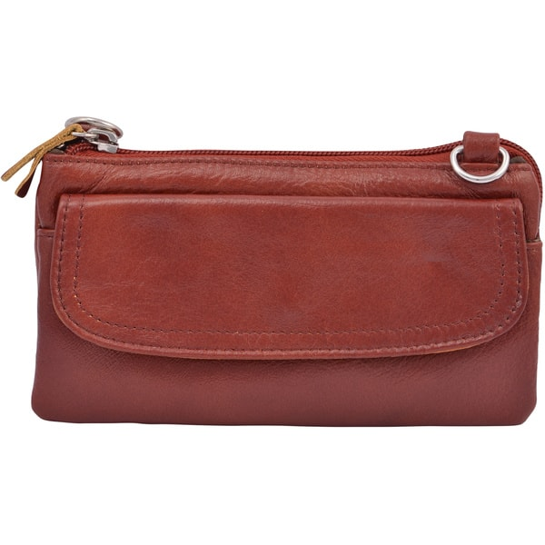 c98df14c795c40 Shop Amerileather 'Mia' Small Leather Bag - Free Shipping On Orders ...
