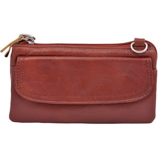 Amerileather 'Mia' Small Leather Bag