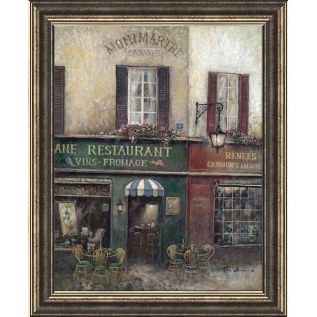 Ruane Manning 'Village Charm' Embellished Framed Art Print