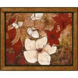 Katrina Craven 'Tropical Allure I' Embellished Framed Art Print