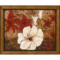 Katrina Craven 'Tropical Allure II' Embellished Framed Art Print