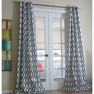 Lambrequin Pebbles 84-inch Curtain Panel - 54 x 84