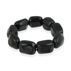 Glitzy Rocks Onyx Stretch Bracelet - Thumbnail 1
