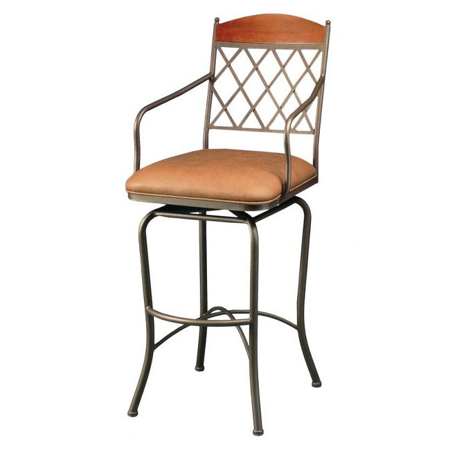 Napa Ridge 30 Inch Swivel Bar Stool Free Shipping Today