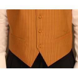 Ferrecci Men's One-piece Mustard Color Vest